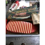 RARE 1957 Atwood Steamcraft Jungle Boat Steam Powered Disneyland With Box