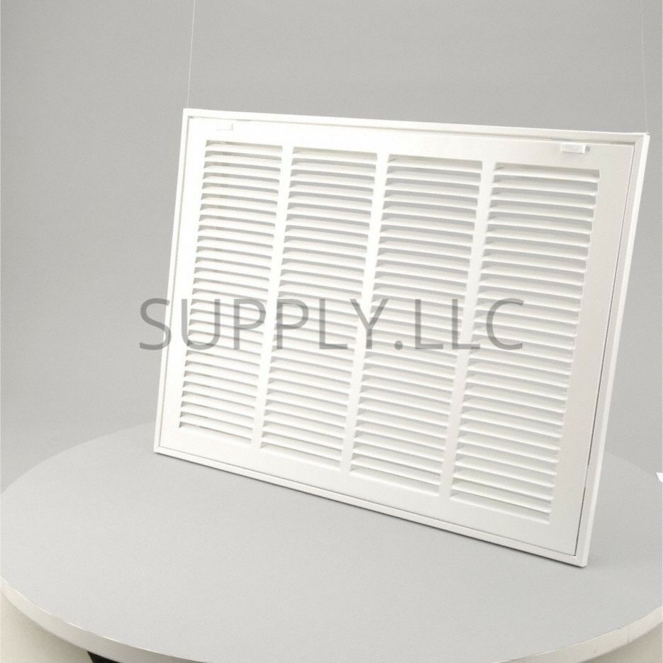 Details About Filter Return Vent Cover 14 X 24 Duct Size White Air Grille Ceiling Wall