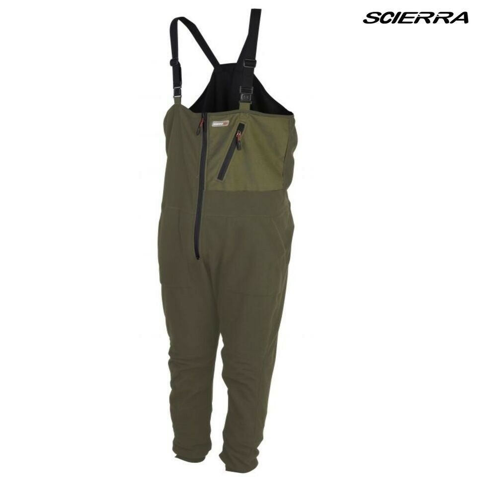 f0035e7a6c2 Details about Scierra Thermo One Piece Mid Layer Fly Body Suit | Olive Green