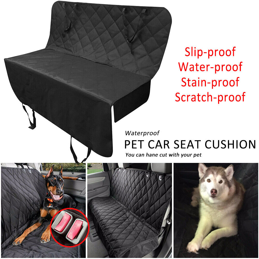Car Rear Back Seat Cover Pet Dog Cat Auto Protector