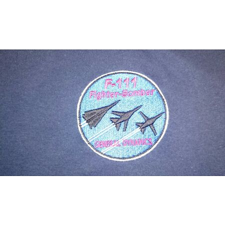 img-USAF UNITED STATES AIR FORCE F-111 POLO SHIRT