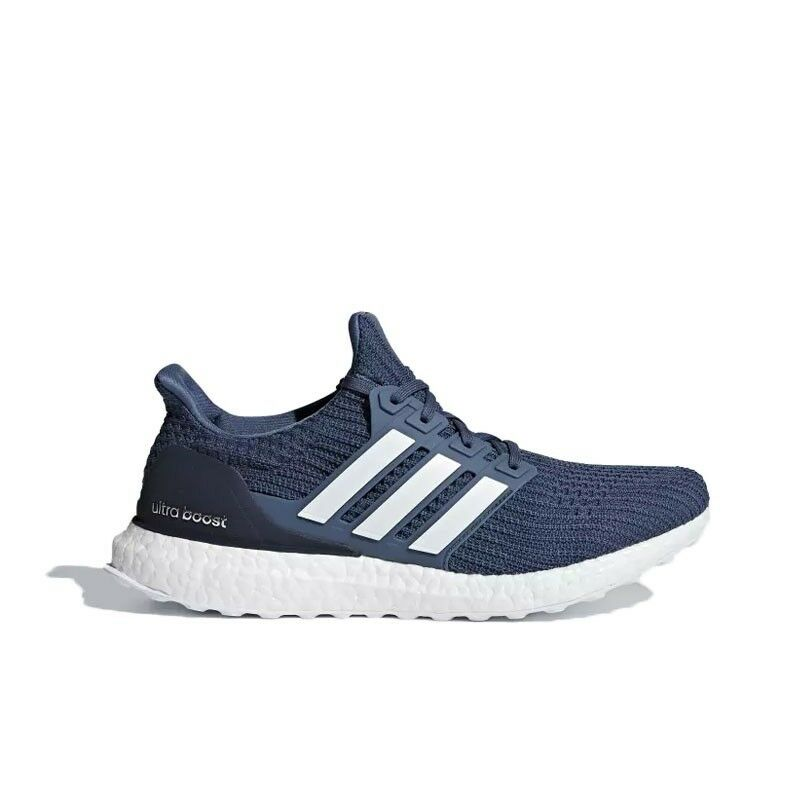 info for 73aa9 b919c Details about Adidas UltraBoost 4.0 (Tech Ink Running White Grey) Men s  Shoes CM8113