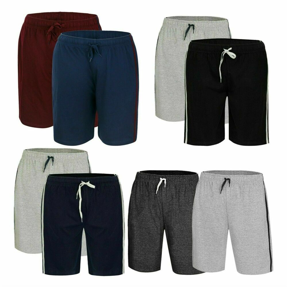 3792ef3ca0f Details about Mens Loungewear Shorts PJ Nightwear Pyjama Bottoms Sleepwear  Cotton Casual Pants