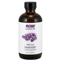 NOW Foods Lavender Oil, 4 oz. FREE SHIPPING. MADE IN USA. FRESH