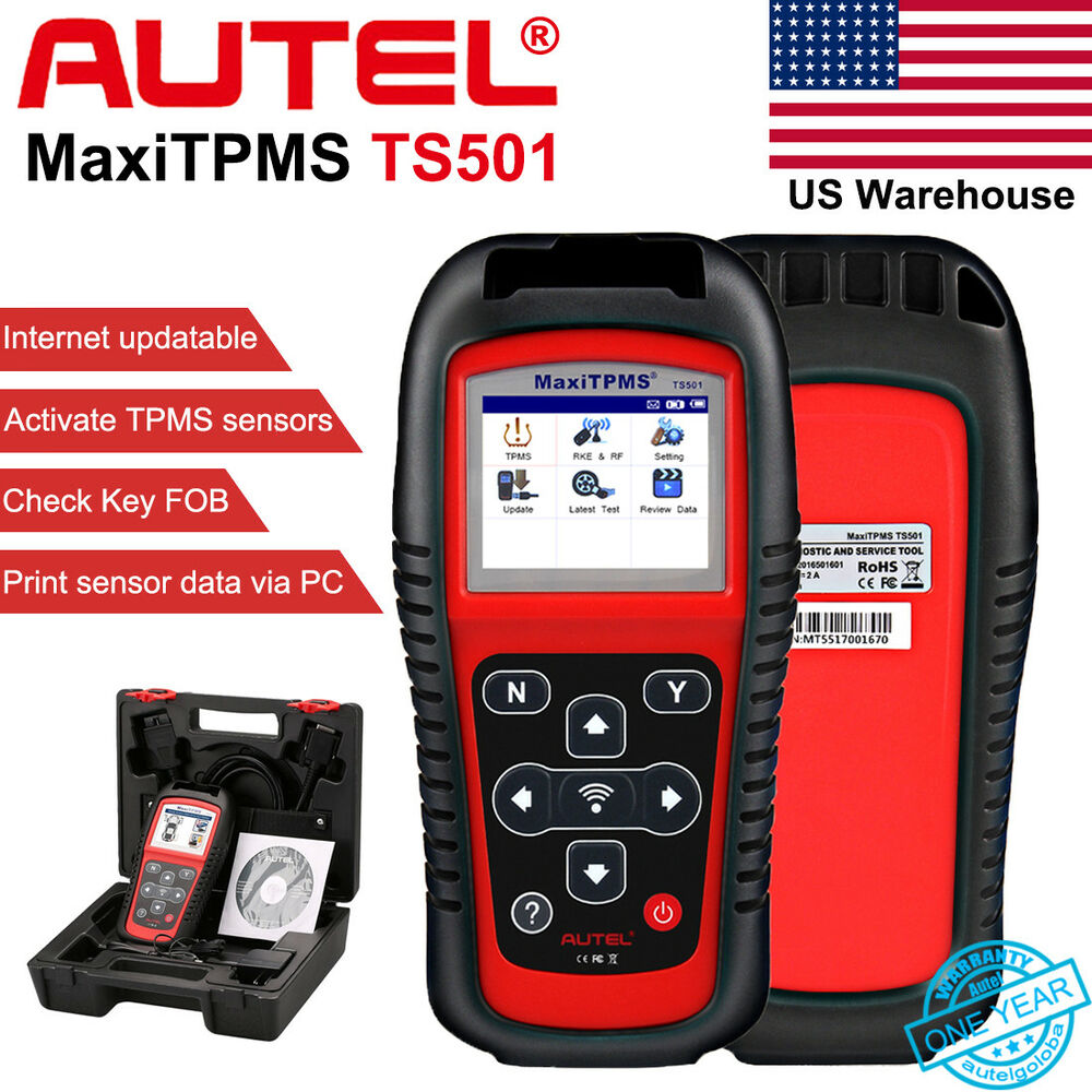 Autel MaxiTPMS TS501 TPMS Tire Pressure Sensors Activate and Decode Tool  Scanner 768430729068 | eBay