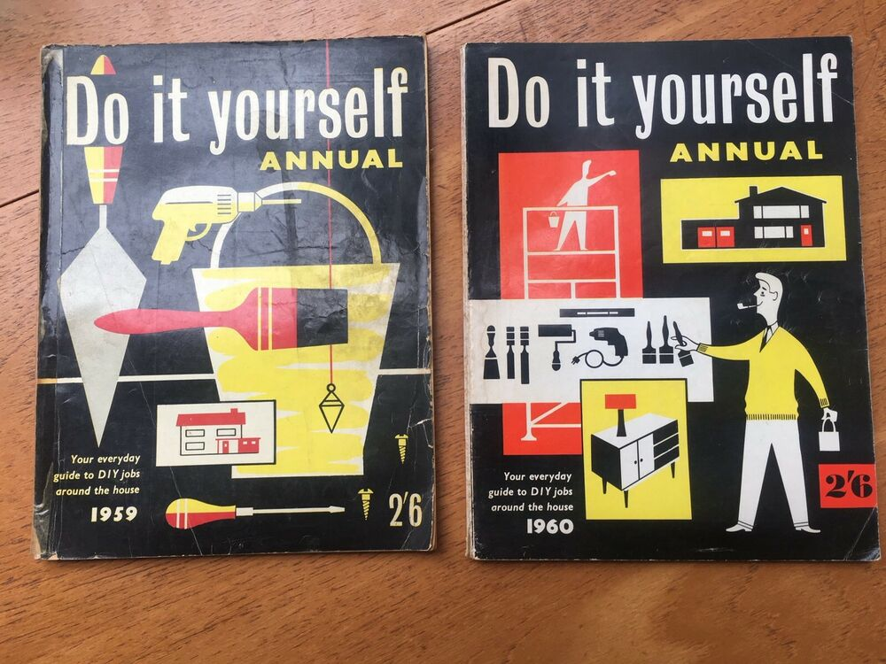 Job lot of vintage do it yourself annuals1959 1960 ebay solutioingenieria Image collections