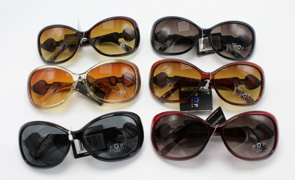 60be70ae4a Details about Wholesale 12 Pairs Women s Designer Style Sunglasses nwt   P1337-12