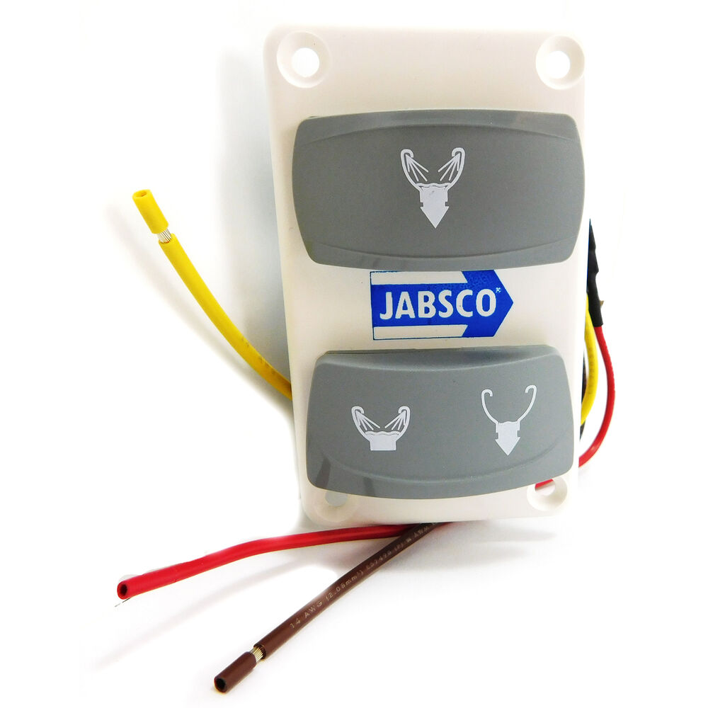 Jabsco 37047 2000 Toilet Switch Panel Models Series