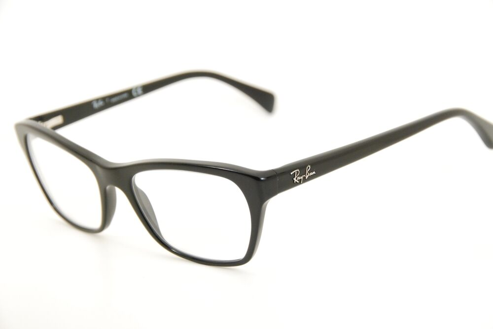 de8ed7443f Details about New Authentic Ray Ban RB 5298 2000 Black Silver 53mm Frames  Eyeglasses RX