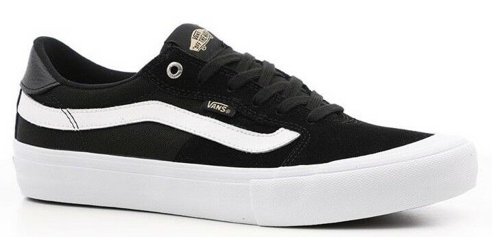 Details about VANS (STYLE 112 PRO) BLACK WHITE SUEDE SKATE SHOES SZ 11.5  MENS ULTRACUSH NEW 2bc1433d9