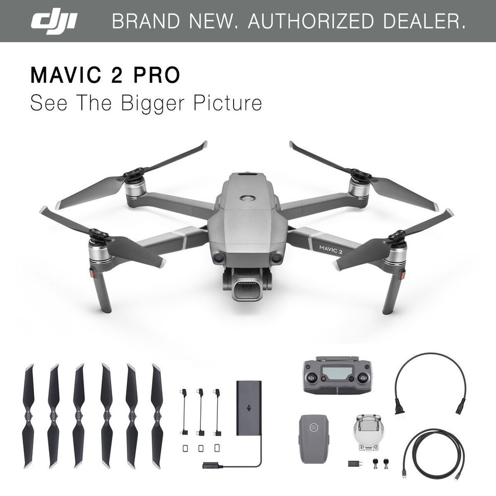 DJI Mavic 2 Pro – Hasselblad Camera – HDR Video – Brand New!