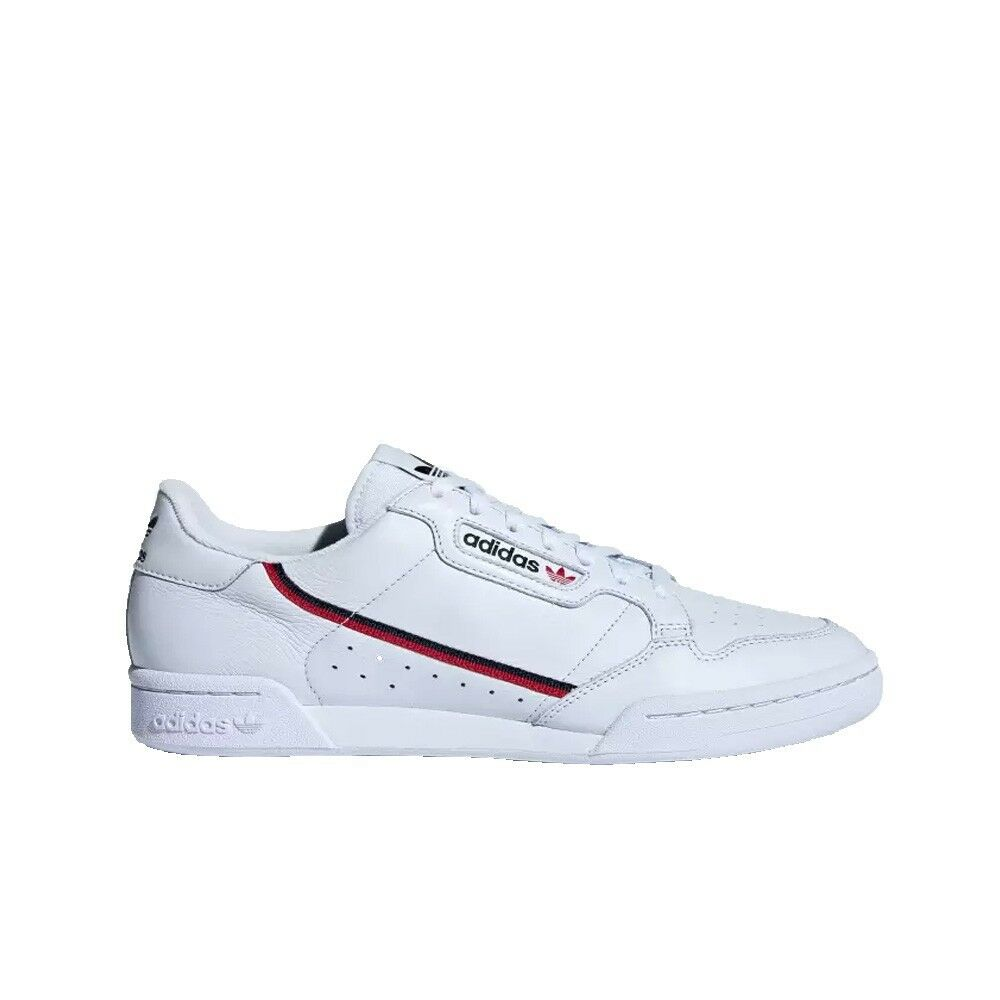 premium selection c5b58 4f3b3 Details about Adidas Continental 80 (Aero BlueScarletCollegiate Navy) Mens  Shoes B41673