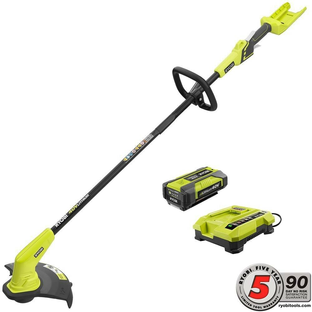 Ryobi Electric Weed Eater Wacker Cordless String Trimmer