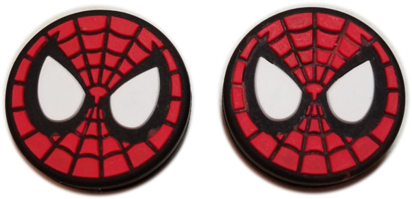 **NEW** 2X SPIDERMAN SILICONE VIBRATION DAMPENERS FOR TENNIS RACQUETS