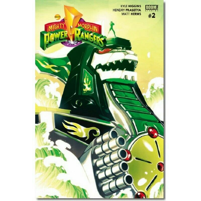 Boom Mexico Mighty Morphin Power Rangers 2 Goni Montes Dragonzord