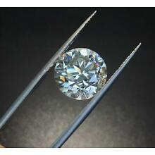 4mm Loose Brilliant Cut Diamond 0.23cts VVS Clarity G Color Round enhanced