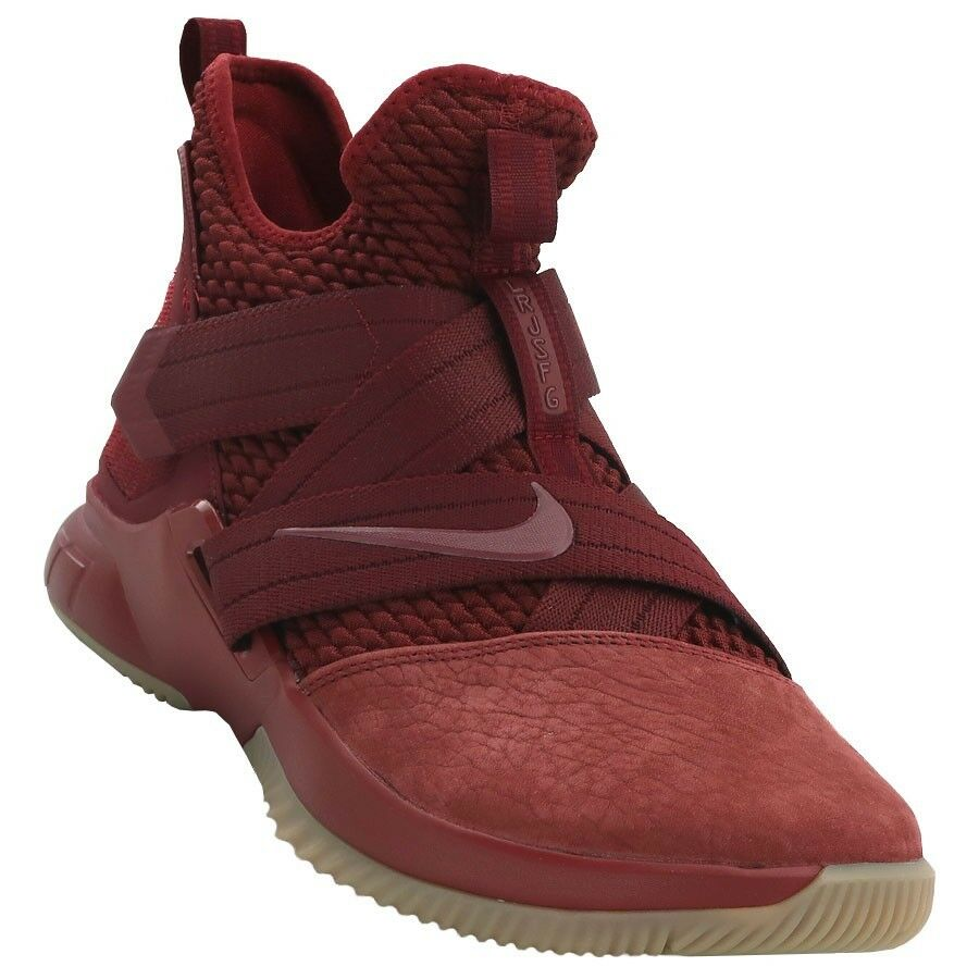 b160f0ee31e1 Details about Men s Nike Lebron Soldier XII SFG Basketball Team Red Sizes  8-13 NIB AO4054-600