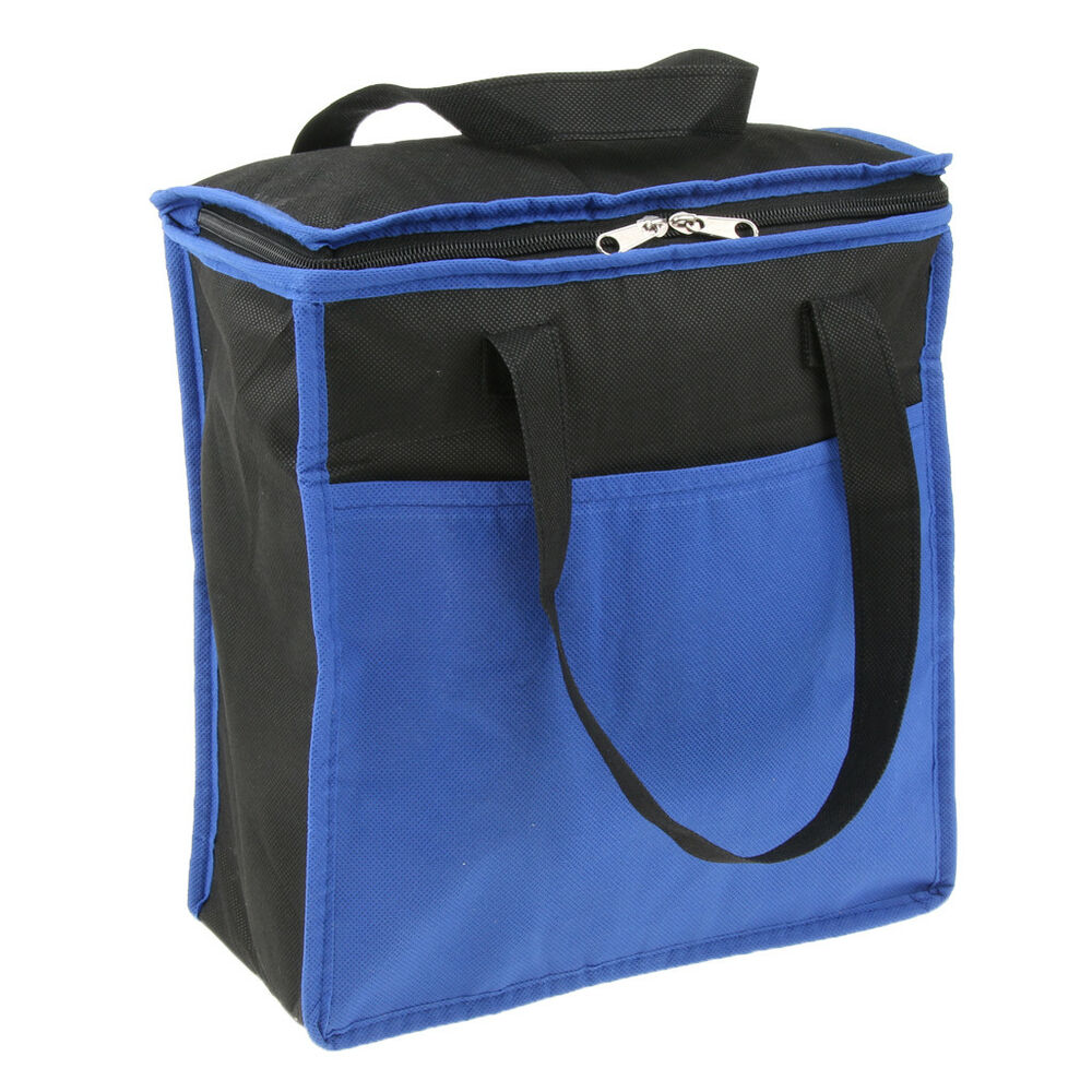 Lunch Box Bag Tote Insulated Food Cooler Outdoor Camping