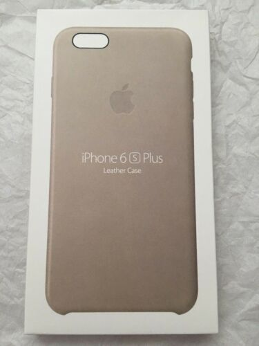 NEW Apple MKXE2ZM/A Rose Gray iPhone 6s Plus Leather Case