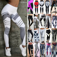 Sexy Womens Butt Lift Yoga Pants Hip Push-Up Leggings Fitness Workout Stretch