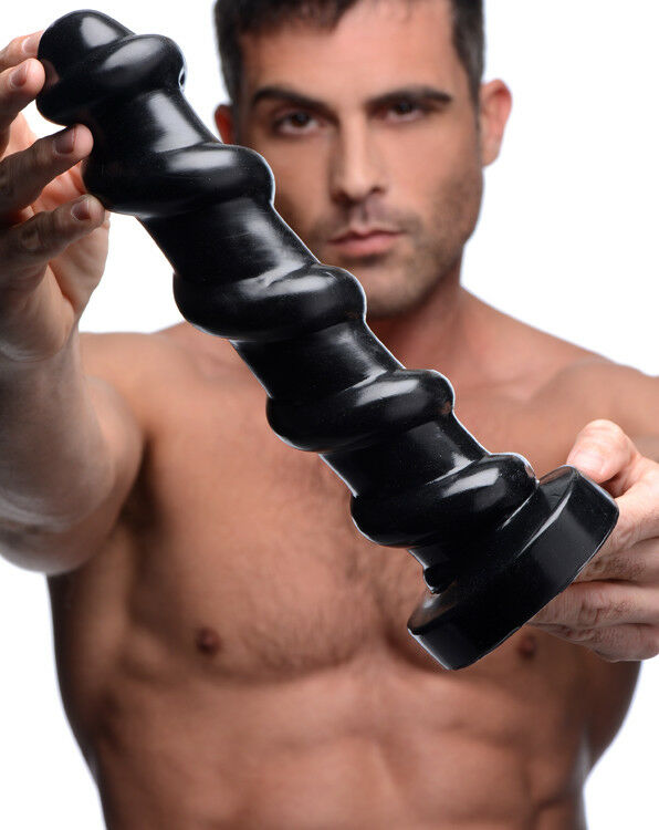 Details about Master Cock Screw Giant Dildo Anal Plug Butt Plug -12.5 inch