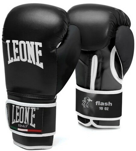 GUANTO LEONE GN083 FLASH 10M/10/12/14/16 OZ BOXE THAI KICK MMA