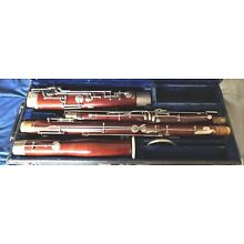 Vintage F. E. OLDS  SPECIAL Bassoon With 1 Bocal  & Case # 1021