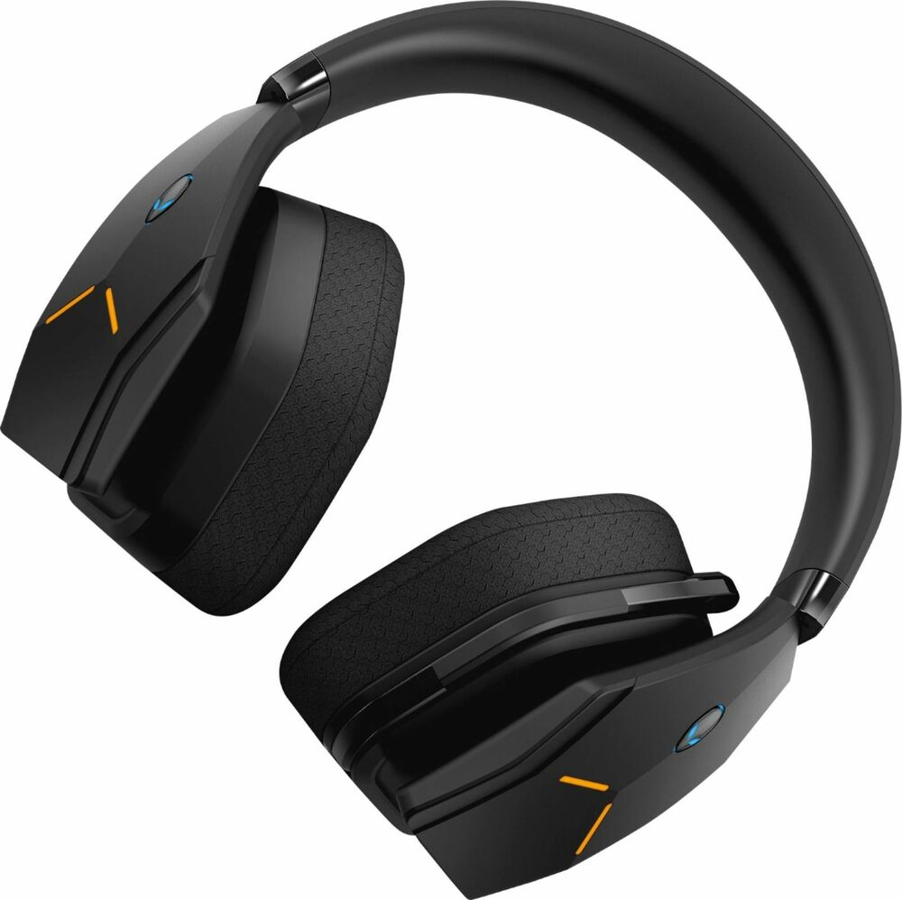 alienware wireless wired stereo gaming headset black. Black Bedroom Furniture Sets. Home Design Ideas