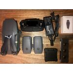 DJI Mavic Pro with extra accessories (batteries, chargers, filters, case)