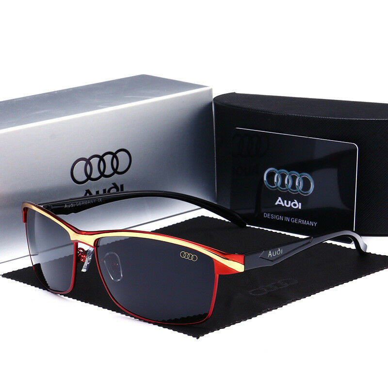 e7fef9d640 Details about 2019 Audi Brand Men s Sunglasses Polarized Classic UV400 Men  Glasses Summer New