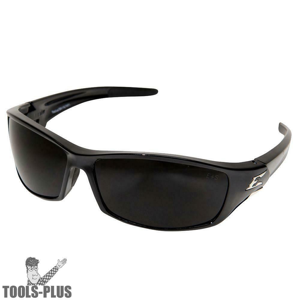 b1aa5a4bbbe Details about Edge Eyewear SR116 Reclus Smoke Lens Black Safety Glasses