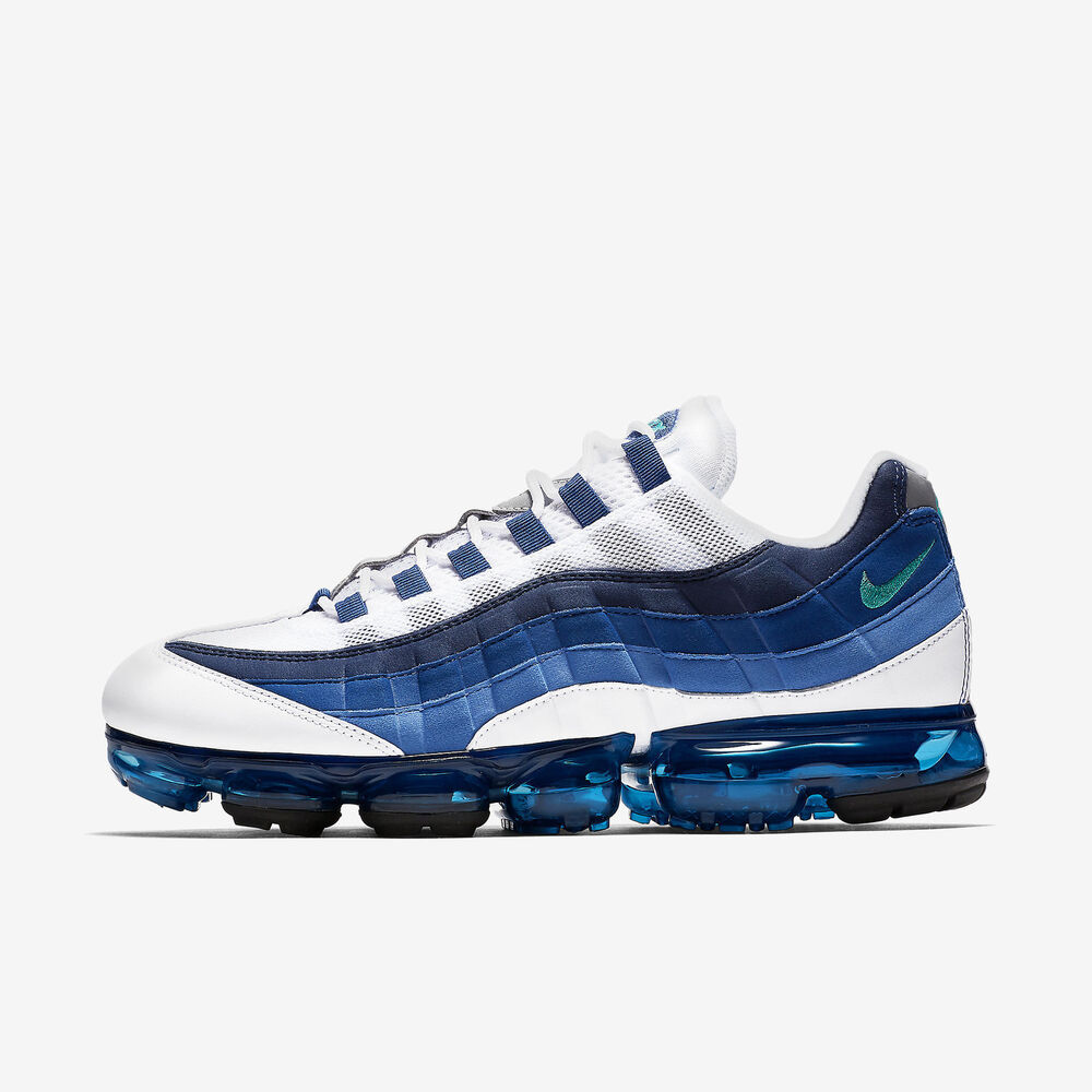 outlet store 645e3 ecc0d Details about Nike Air Vapormax  95 size 13. Slate French Blue. AJ7292-100.  97 98 max flyknit