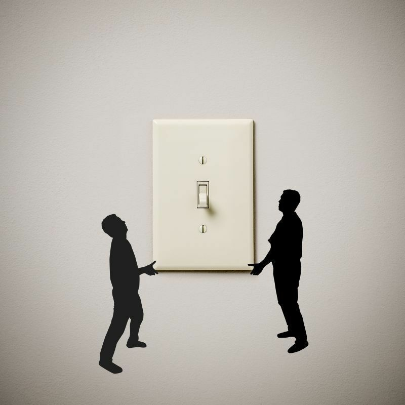 Guys Carrying Cute Funny Vinyl Decal Sticker For Light Switch Our - Vinyl-decals-to-decorate-light-switches-and-outlets