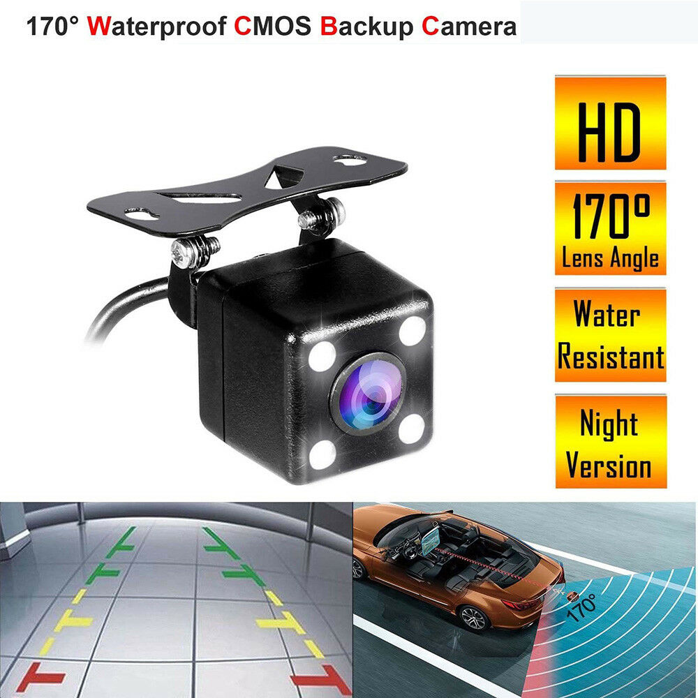 Consumer Electronics 170° Hd Waterproof Car Rear View Camera Parking Reverse Backup Night Vision 12v