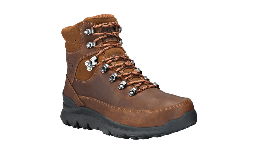 9c041aa4de1f Men s Timberland World Hiker Mid Waterproof Leather Boots TBA1QJ9201 Medium    eBay