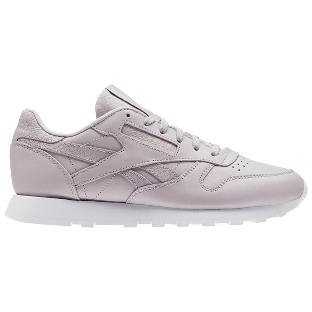 cff4f94929f Details about Reebok Classic Leather Ps Pastel (LAVENDER LUCK WHITE)  Women s Shoes CM9159