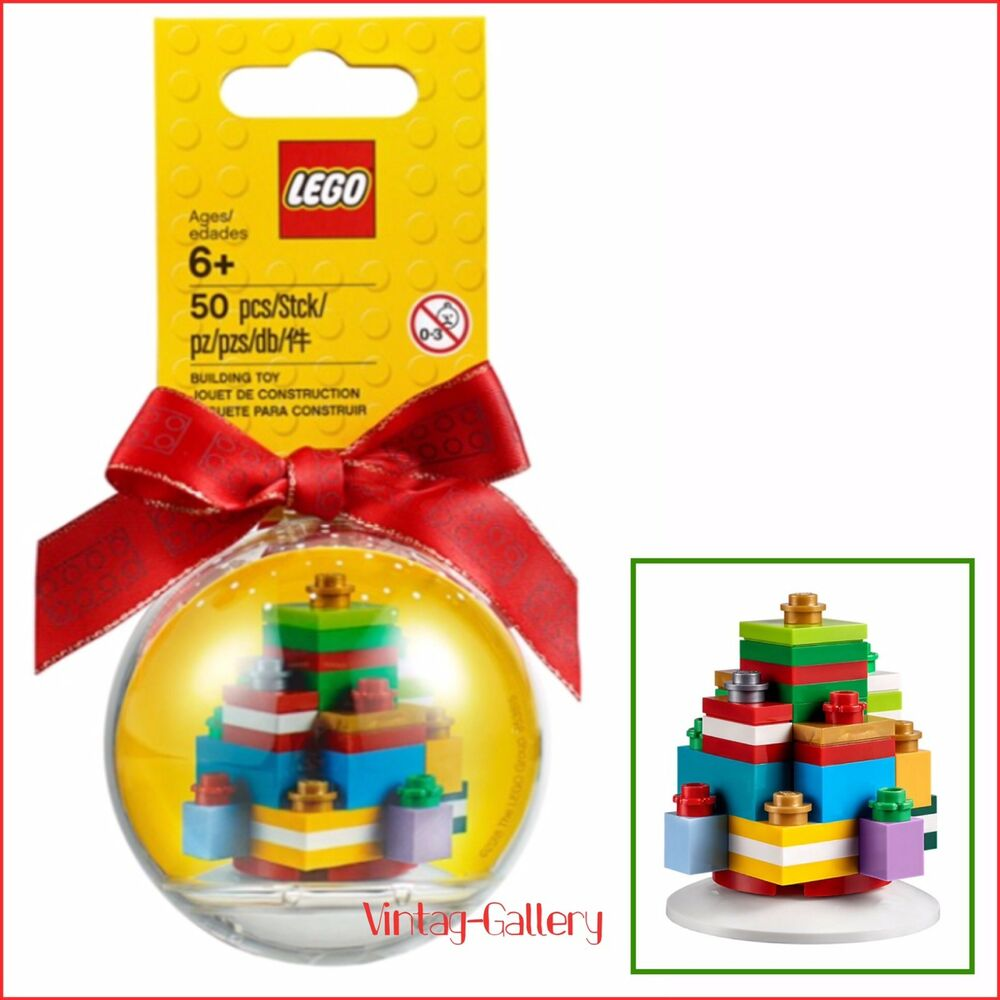 LEGO Exclusive Christmas Gifts Holiday Ornament #853815 ...