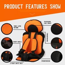 New Safety Infant Child Baby Car Seat Toddler Carrier Cushion 9 Months - 5 Years