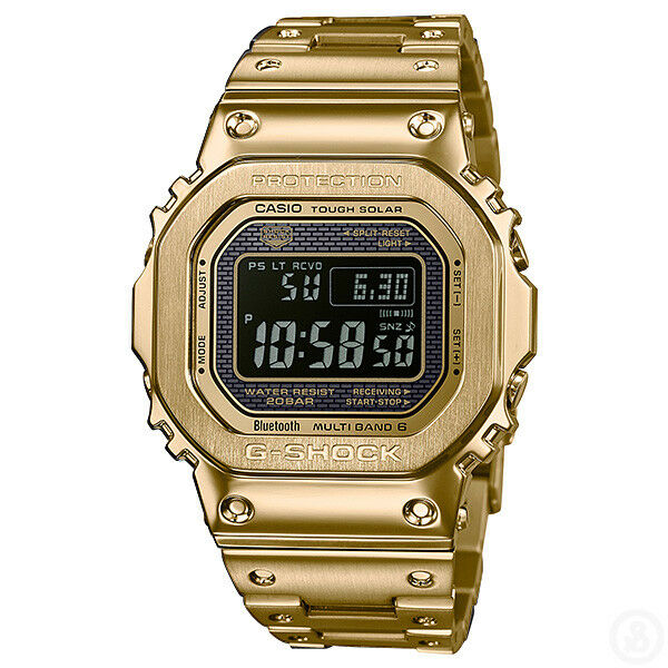 69a38b252 Details about CASIO G-SHOCK Full Metal Bluetooth Gold Edition Watch GShock  GMW-B5000GD-9