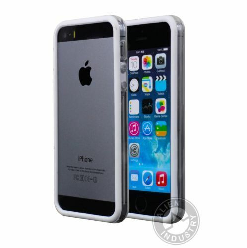 Bumper anti chocs transparent pour iPhone 5/5S/SE/6/6S