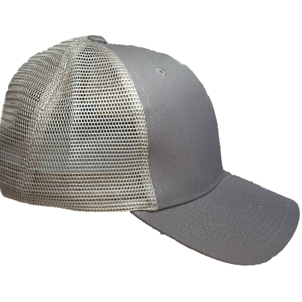 Details about Plain Tan Trucker Hat Baseball Caps Mesh Hat -Velcro  Adjustable. 18bbcd7677b