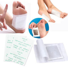 100Pcs Anti-Inflammation Swelling Ginger Foot Patch Organic Herbal Detox Pads