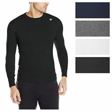 8230365ae54839 Champion Men's Double Dry Compression T-Shirt Long-Sleeve Athletic  Baselayer Tee