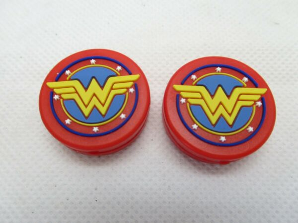 **NEW** 2X WONDER WOMAN SILICONE VIBRATION DAMPENERS FOR TENNIS RACQUETS