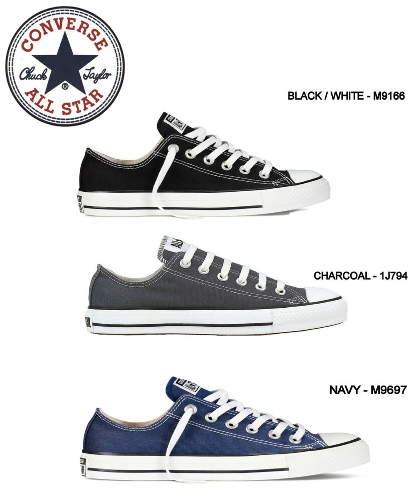810b1755492bc3 Details about  NEW - CONVERSE ALL STAR CHUCK TAYLOR Ox Low Top Canvas Shoes  Sneakers - UNISEX