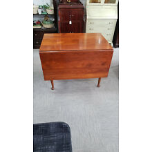 Cherry Drop Leaf Stickley dining table