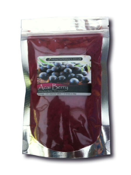 Acai Berry Powder (10:1 Extract ), 25g - 100g, Antioxidant, Weight Loss