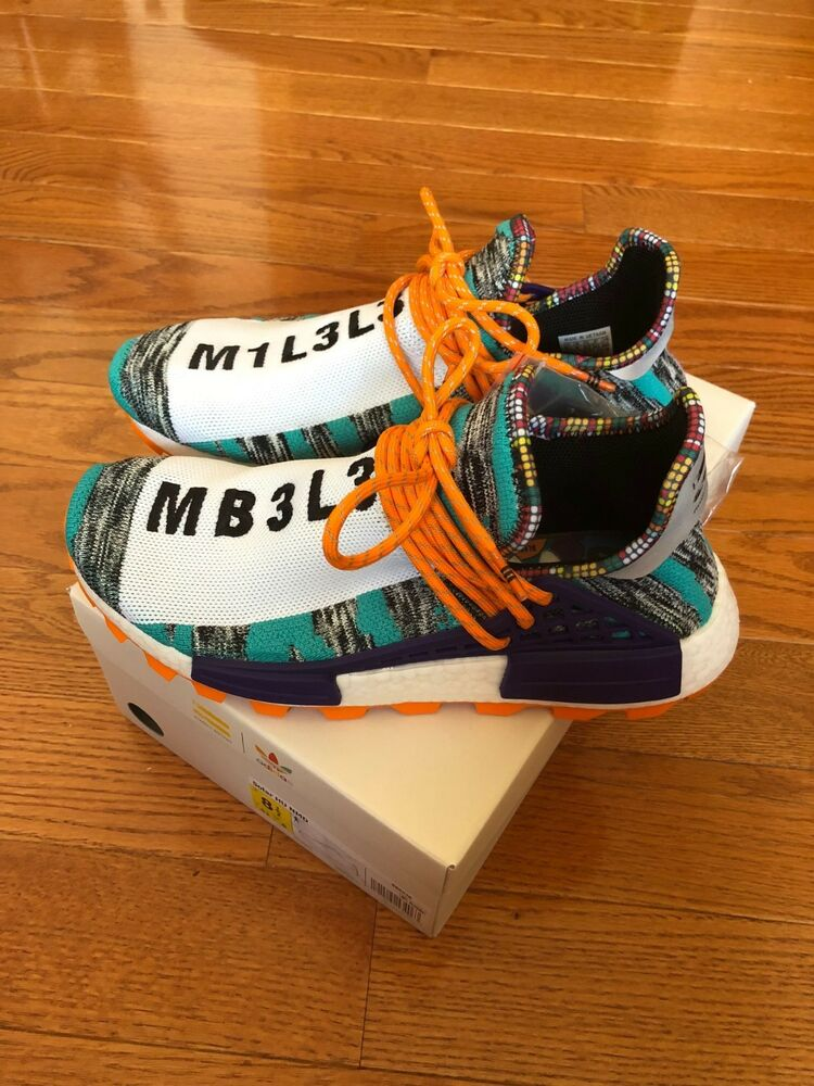 c6ab5ee59 Details about Adidas HU NMD Pharrell William Human Race Solar Pack Size 8.5  BB9528
