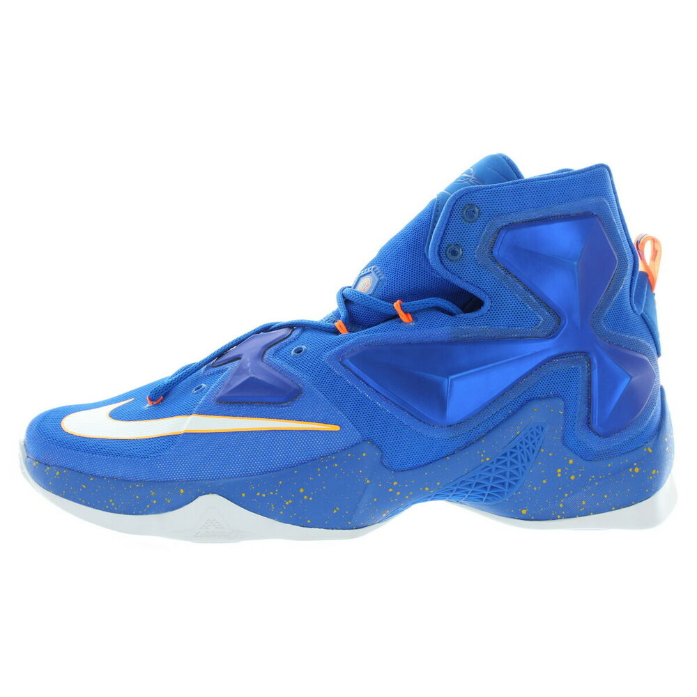 newest ff9a2 faef4 Details about Nike Mens Blue Lebron XIII Basketball Shoes Size 13 Medium  (D, M)