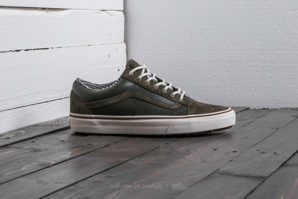 7829781852 Details about Vans OLD SKOOL MTE Grape Leaf Marshmallow Men s Shoes 8 -  Women s 9.5